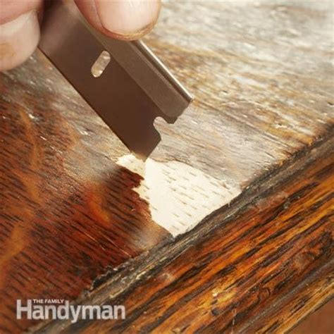 Wood Furniture Repair by How To Refinish Furniture The Family Handyman