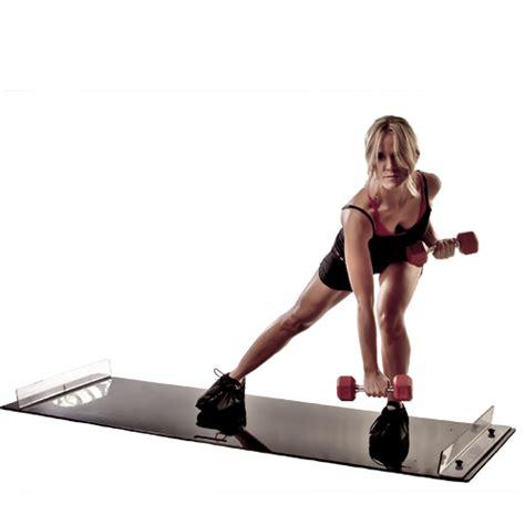Obsidian Slide Board For High Intensity And Low Impact Exercise Fitness obsidian slide board for high intensity and low impact exercise fitness black