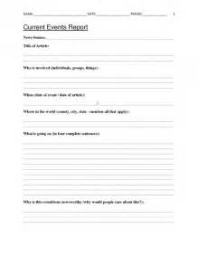 school worksheet template free current events report worksheet for classroom teachers