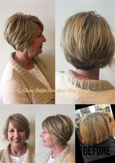 what is a dymensional haircut dimensional blonde on shattered short inverted bob razor