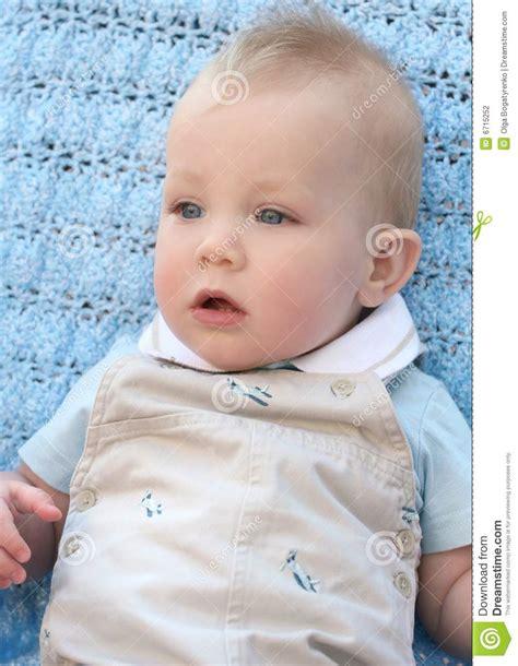 adorable blue eyed baby boy stock photography image 6715252