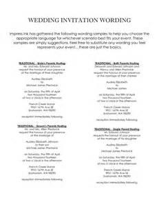 hosting wedding invitation wording theruntime