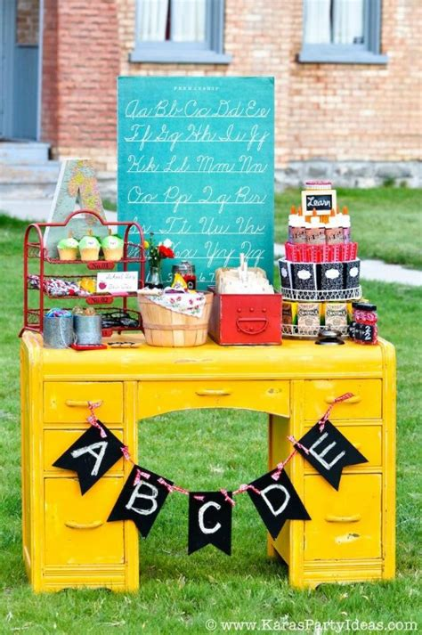 education theme party 10 back to school party ideas