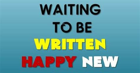 a meaningful chapter waiting to be written happy new year