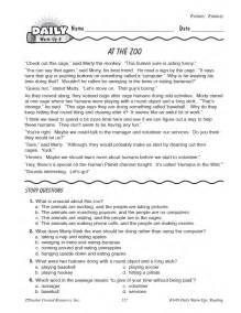 daily warm ups reading grade 3