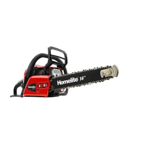 homelite reconditioned 14 in 42cc gas chainsaw zr10548