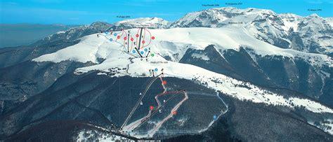 passo lanciano web passo lanciano majelletta mappa delle piste da sci a