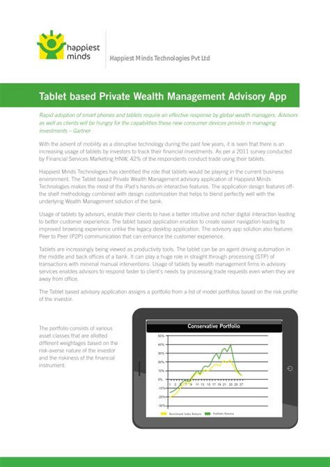 table wealth management brochure table based wealth management advisory