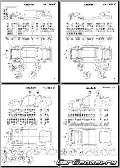 car repair manual download 1995 mitsubishi eclipse regenerative braking mitsubishi eclipse ii 1995 2000 body repair manual