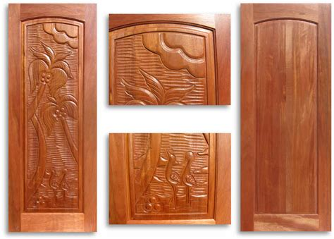 Carved Interior Doors Pre Finished Carved Mahogany Interior Door 32w X 80h Home