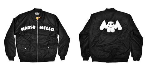 Marshmello Bomber hacken07 marshmello 知名電子音樂dj 新款空軍外套 bomber jacket 官方代購 edm