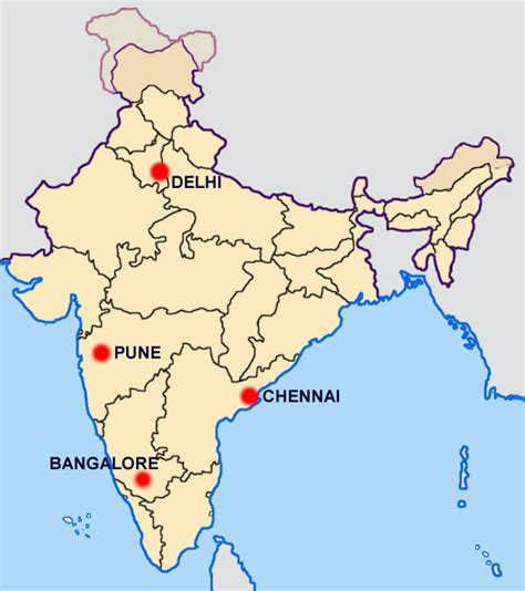 pune in map of india pune india map my
