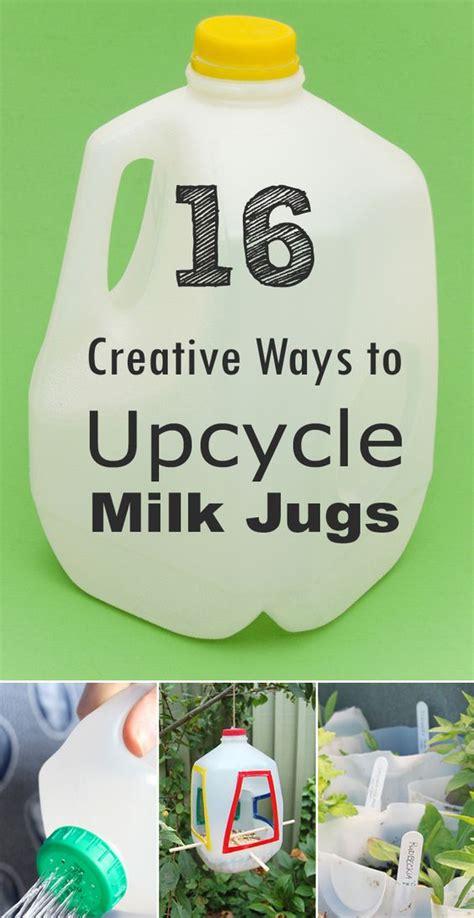 16 creative ways to use 16 creative ways to reuse and upcycle milk jugs creative