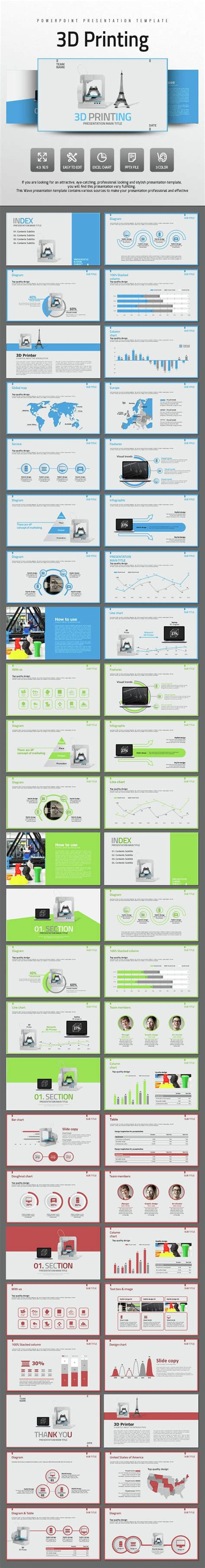 3d Printing Powerpoint Templates Powerpoint Template Presentation Templates Powerpoint 3d Printer Templates