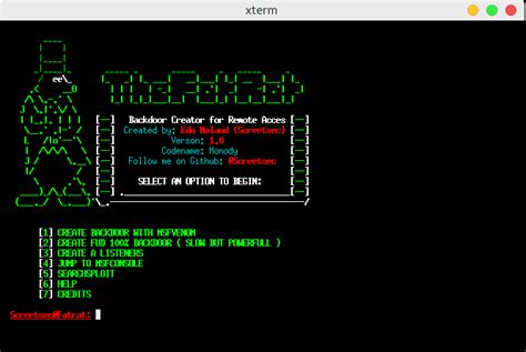 kali linux rat tutorial thefatrat easy tool for generate backdoor with msfvenom