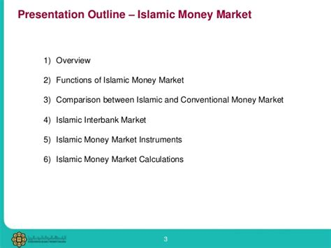 Capital Market Ppt For Mba by Islamic Money Market Ppt