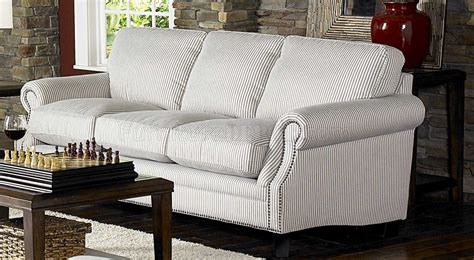 cottage style couch white blue striped fabric cottage style sofa loveseat set