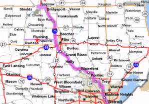 Southeast Michigan Map by Pin Map Of Southeast Michigan Cities And Towns On Pinterest