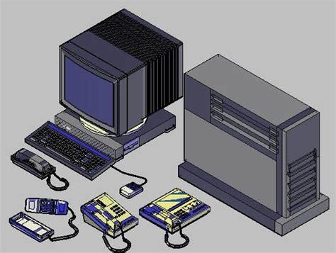 imagenes en 3d autocad planos de bloques autocad 3d aparatos de oficina en