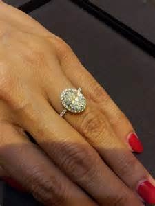 Best Place To Order Blinds Tried On My Ideal Hw Ring Fancy Oval Cut With Halo