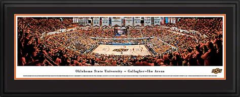 Gallagher Flooring San Jose by Oklahoma State Cowboys Framed Panoramic Poster Print