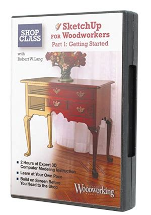 sketchup for woodworkers speciaty dvd s