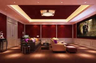 light design for home interiors villa home theater interior design 3d house