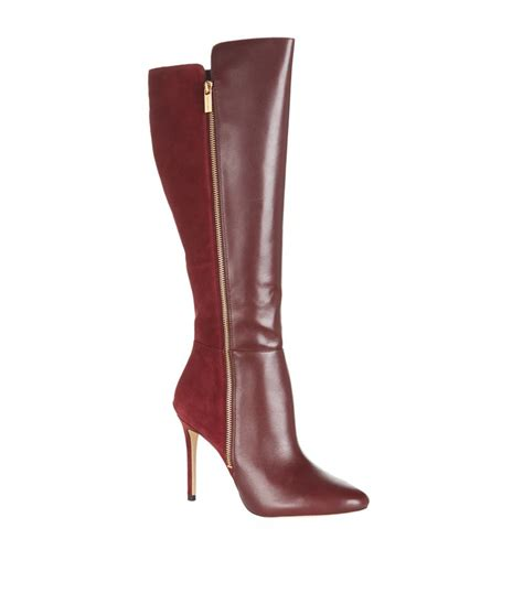 Michael Kors Clara 023 michael michael kors clara zip knee boot in lyst