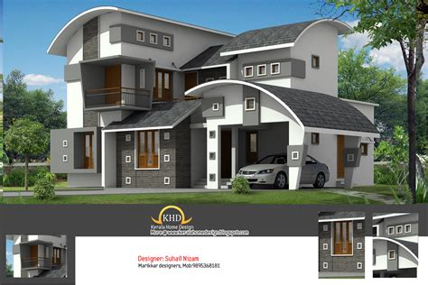 elevation house plan house plan and elevation 2377 sq ft kerala home design and floor plans