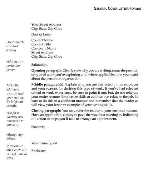 general letter template documents pdfs