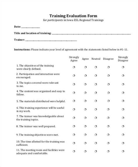 29 employee evaluation forms