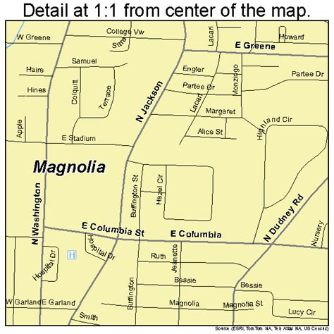 map of magnolia texas magnolia arkansas map 0543460