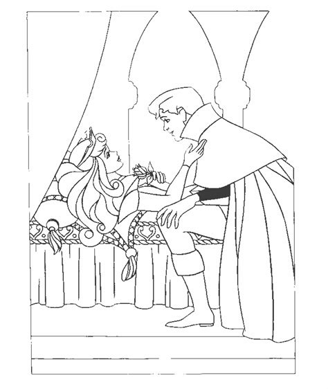 sleeping beauty coloring pages coloringpages1001 com