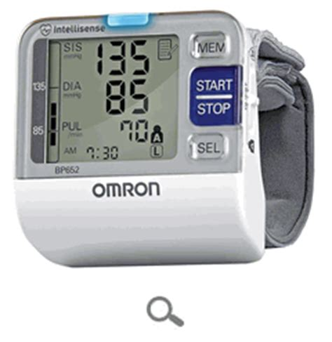 omron bp 652 automatic wrist 7 series blood pressure