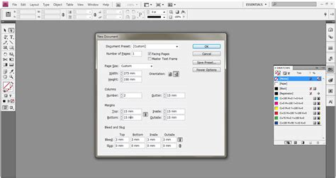 tutorial membuat cover buku dengan indesign cara membuat bleed pada cover buku print on demand