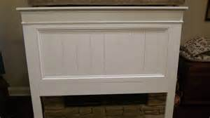 asher s farmhouse headboard white woodworking projects