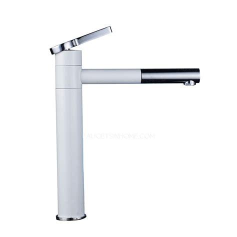 White Bathroom Faucet by White Chrome Brass Bathroom Faucet Mixer Tap Single