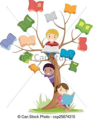 Small House Plans Free vector clip art of stickman kids book tree read stickman