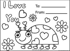 coloring cards free happy valentines day cards printablesfree printable