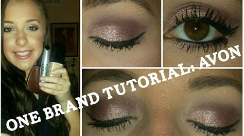 tutorial makeup zoey full face one brand makeup tutorial avon valentines day