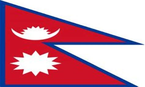 flags of the world nepal nepal flag picture flags learning for kids