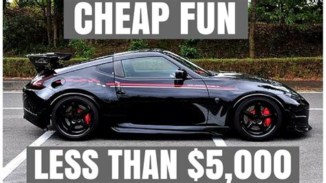 Cheap Cars With V8 by 5 Cheap Cars For Less Than 5 000