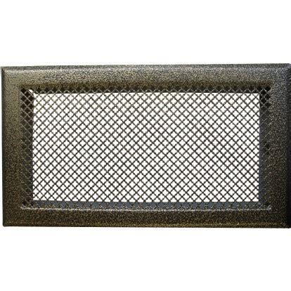 grille ventilation cheminee grille de chemin 233 e avec pr 233 cadre dmo bronze dimensions