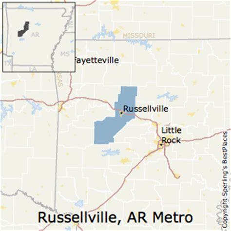 Unemployment Office Russellville Ar by Best Places To Live In Russellville Metro Area Arkansas
