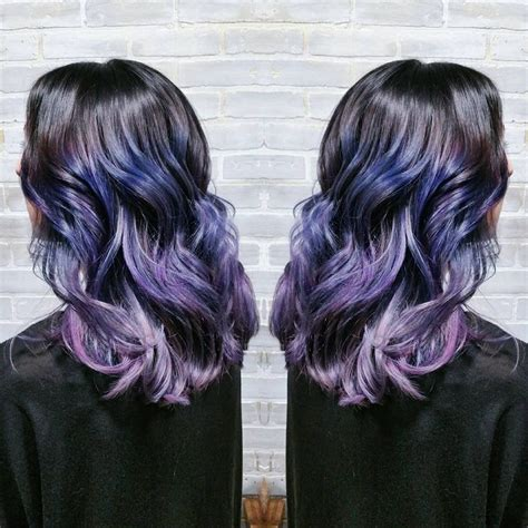 ombre colorful hair periwinkle ombre hair lavender and purple ombre