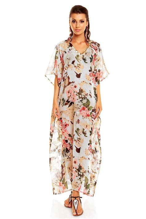 10 Floral Dresses For by Length Kimono Summer Floral Kaftan Maxi