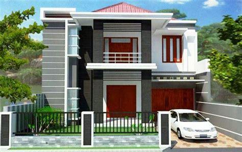 desain tak depan rumah lantai 2 ツ 75 model desain rumah minimalis 2 lantai sederhana