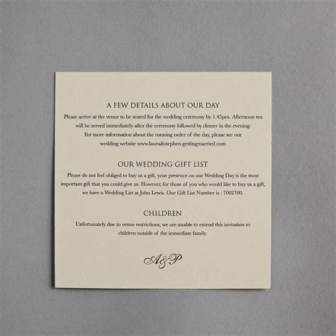 Wedding Invitation Information Card Template by Card Invitation Ideas Wonderful Information Cards For