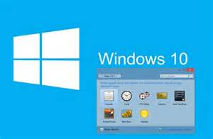 windows 10 desktop gadgets bootable devices