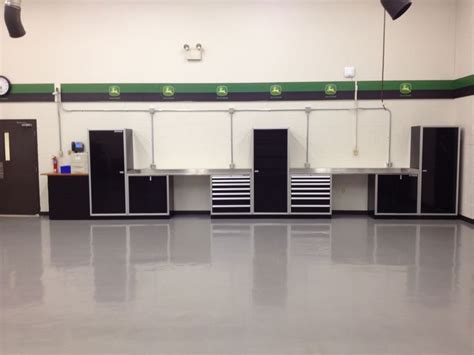 moduline cabinets moduline cabinets at the deere facility garage cabinets baseball